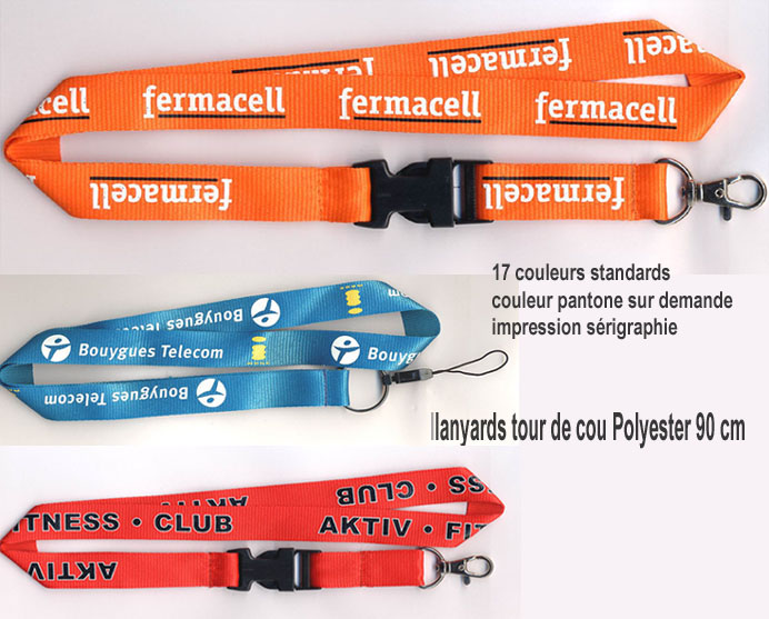 lanyards publicitaires, fabricant lanyards, fabricant lanyards publicitaires, lanyards personnalisés