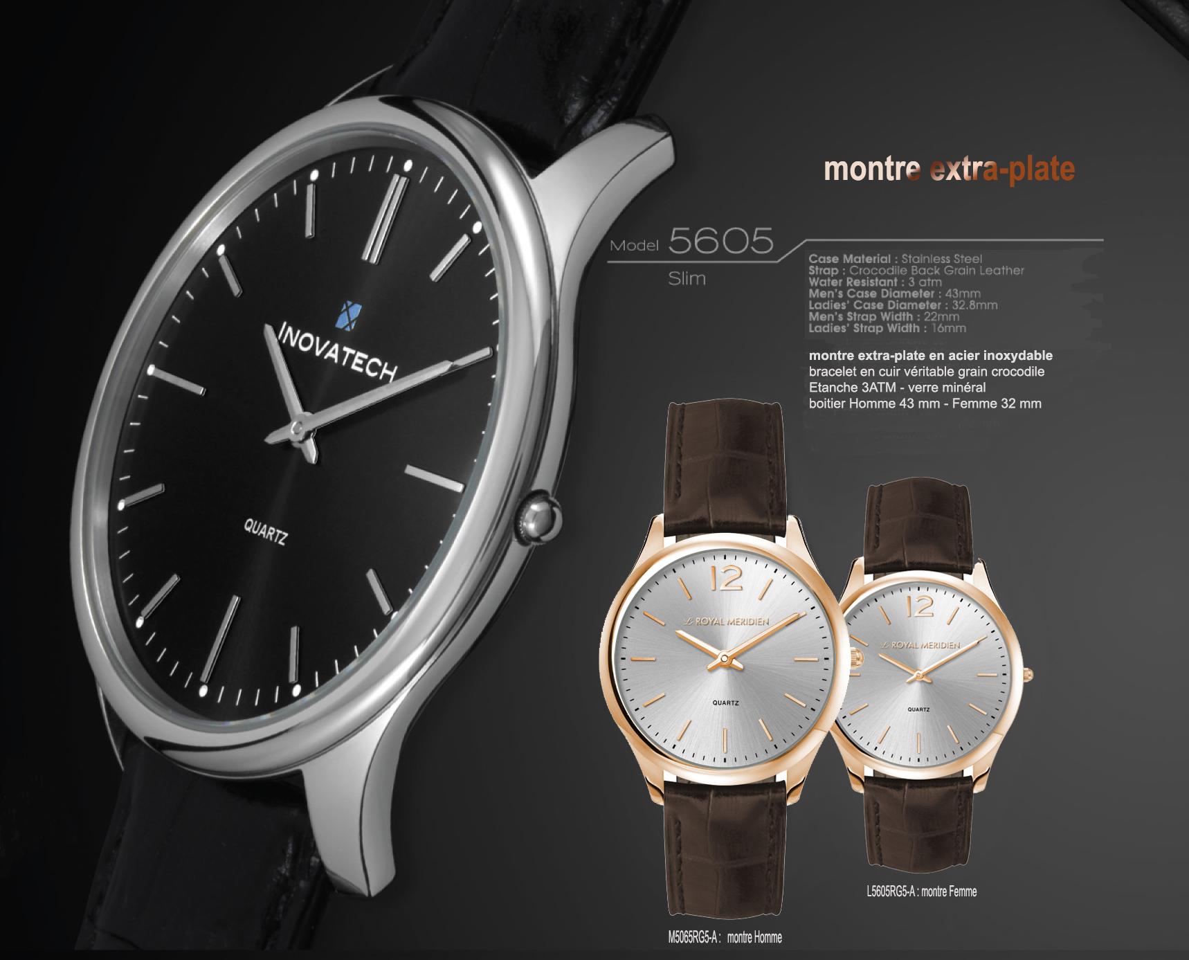 montres publicitaires montre chrono montres classiques montres extra plate fabricant montres. Black Bedroom Furniture Sets. Home Design Ideas