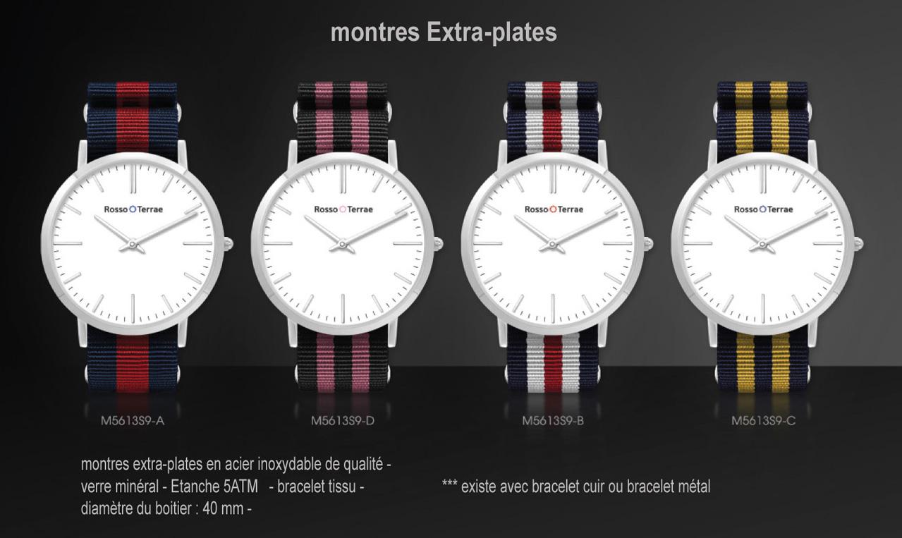 montres publicitaires  montre chrono  montres classiques