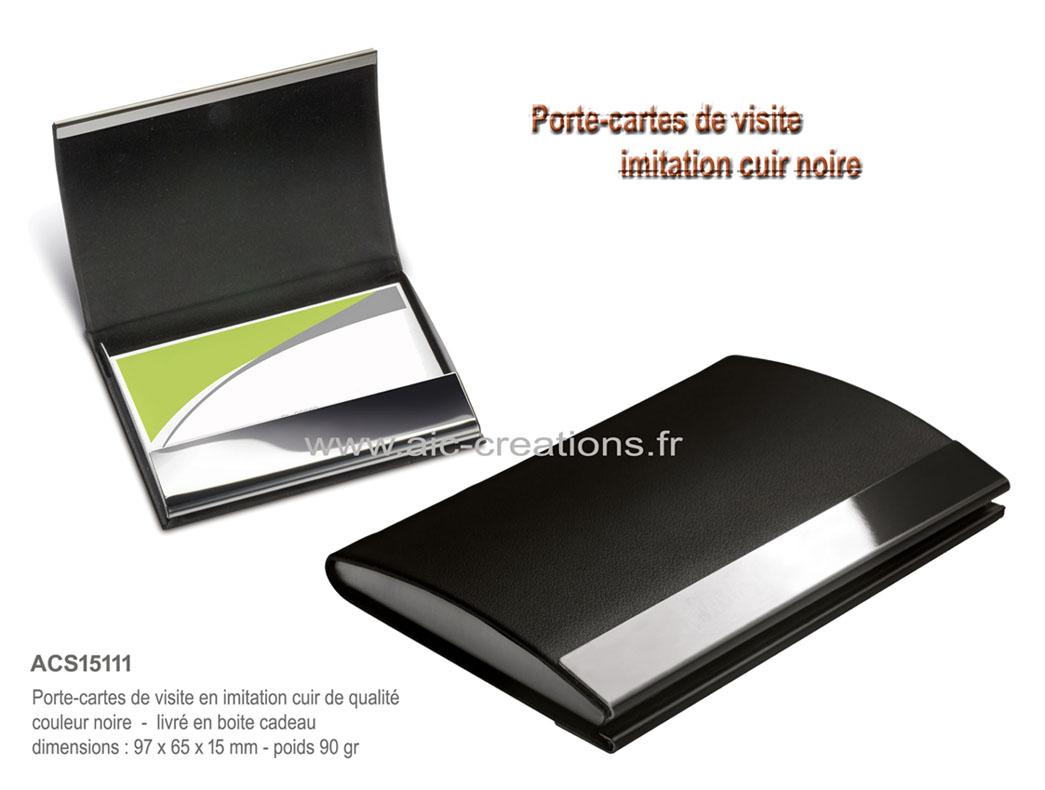 Porte cartes publicitaire coffret cadeau porte cartes - Porte carte de visite de bureau ...